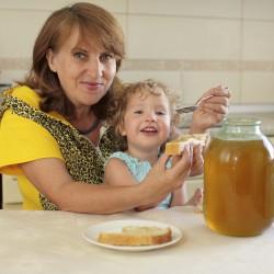 мёд в питании детей